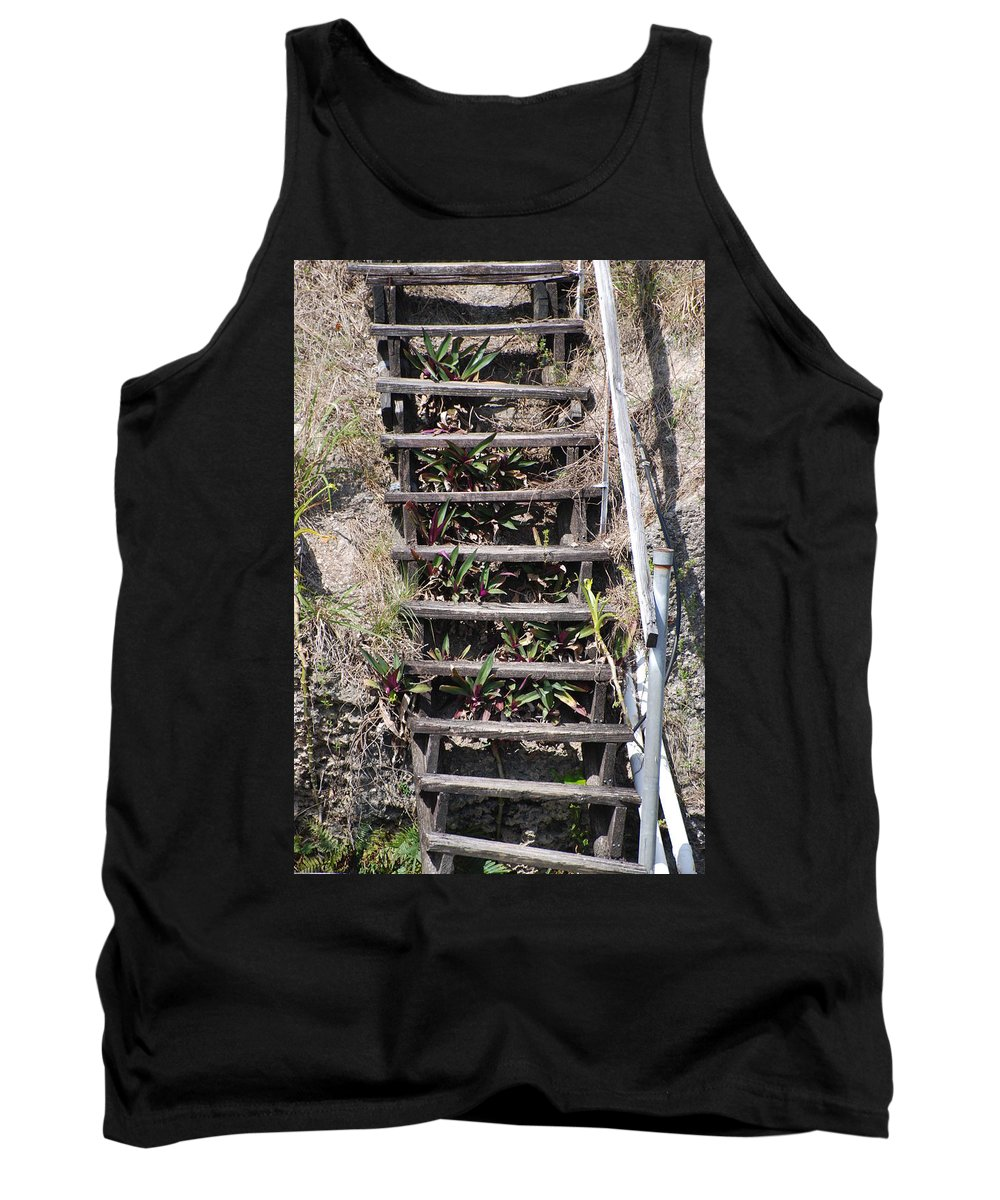 Stairs Tank Top featuring the photograph Nowhere Stairs by Rob Hans