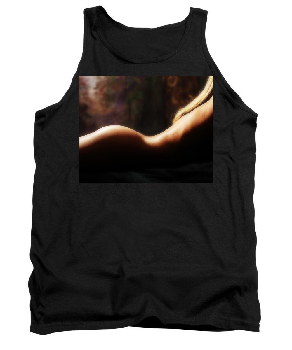 Nude Tank Top featuring the photograph Nude 2 by Anthony Jones