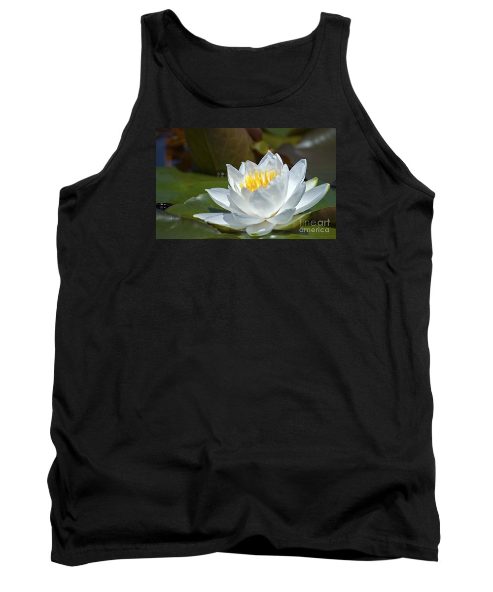 Nina Stavlund Tank Top featuring the photograph Nymphaeaceae.. by Nina Stavlund