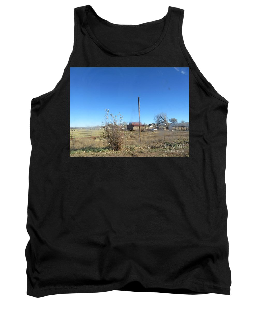 Old Tank Top featuring the photograph Old Barn by Frederick Holiday