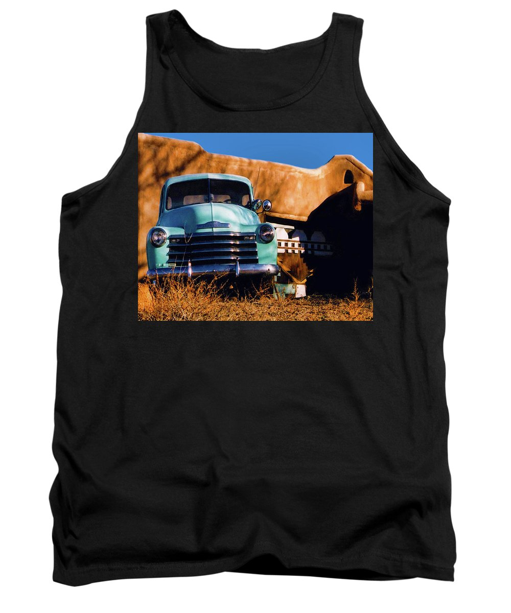 Old Tank Top featuring the photograph Old Chevrolet by Terry Fiala