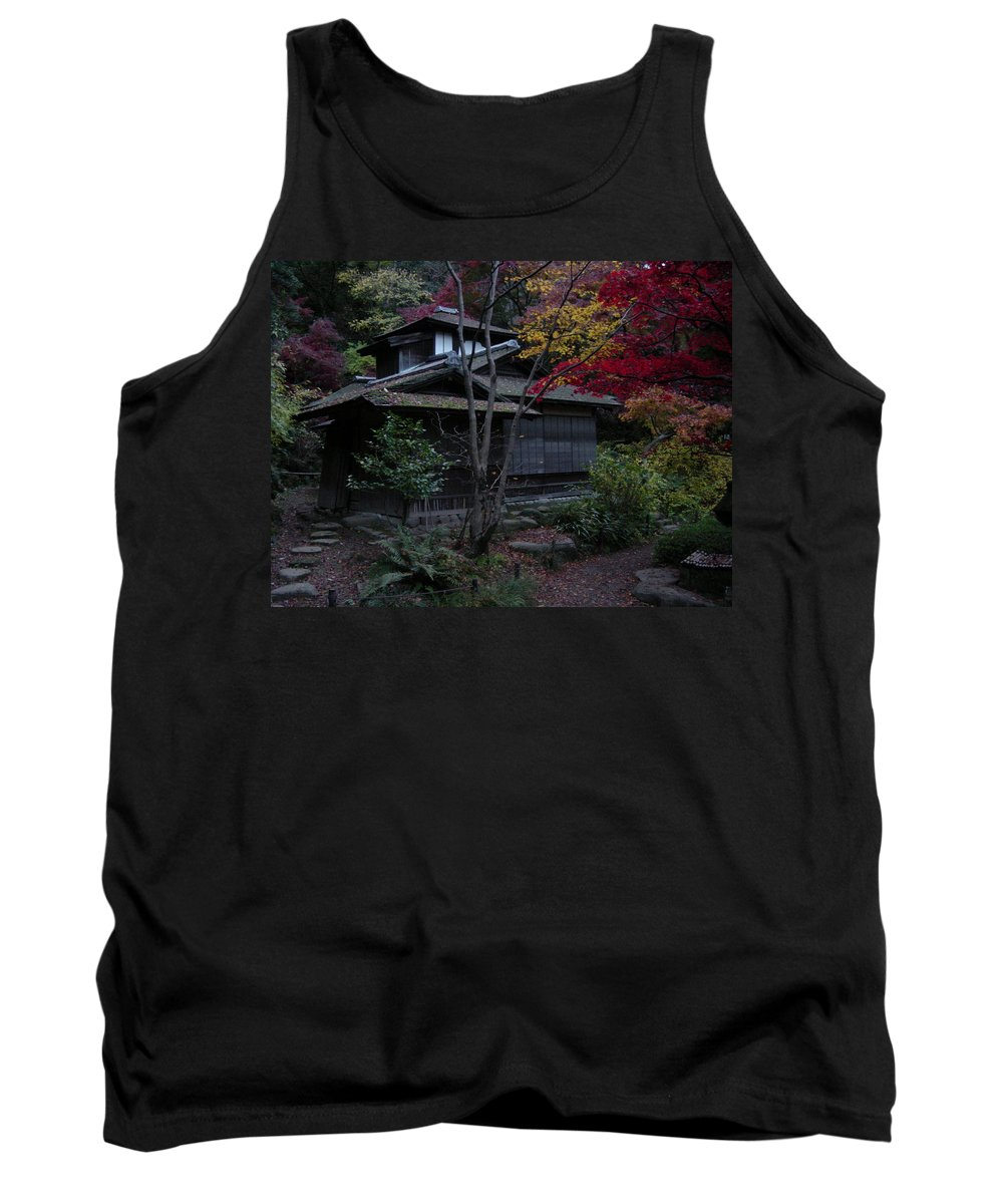 Fall Tank Top featuring the photograph Old Japan by D Turner