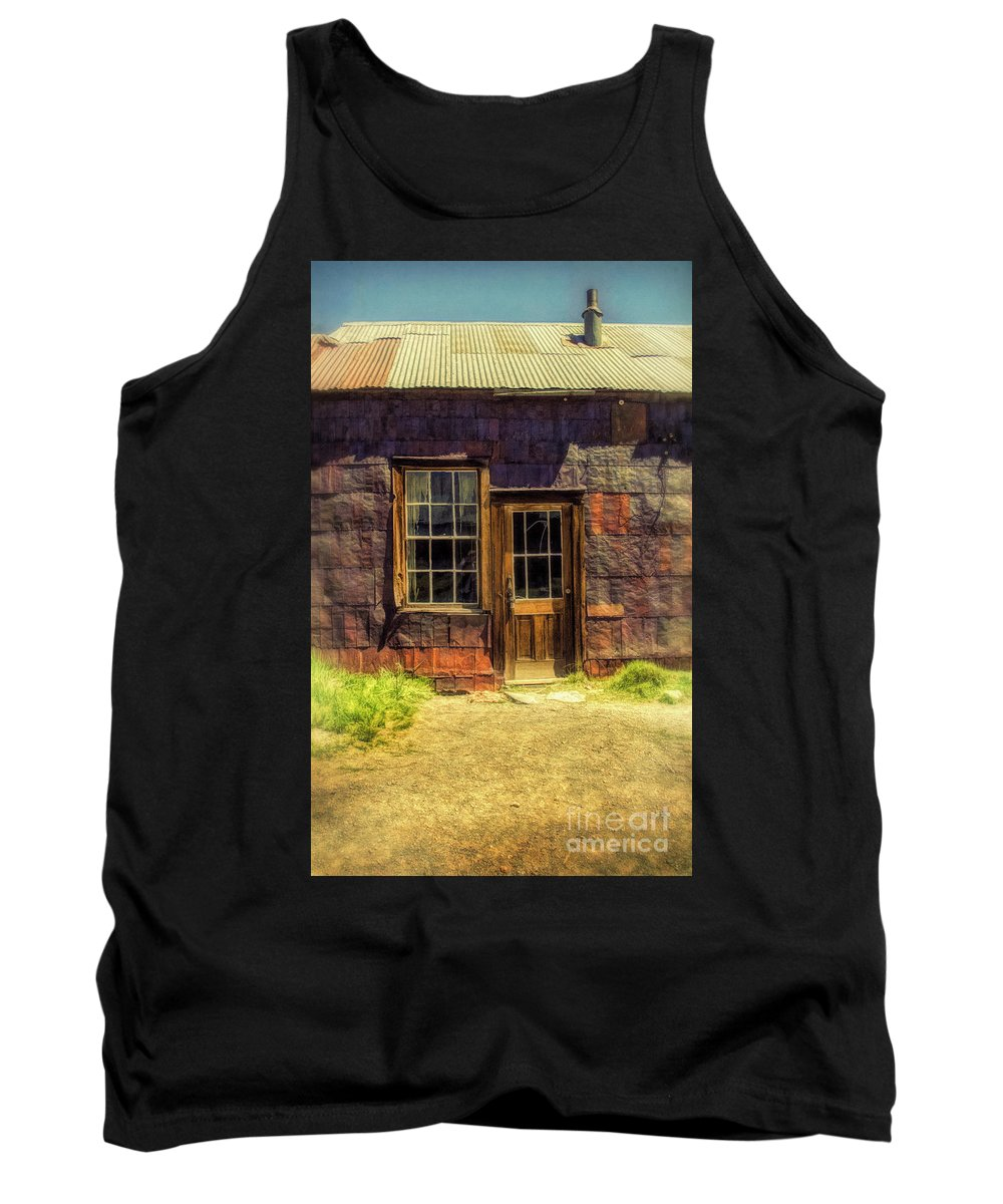 Old Tank Top featuring the photograph Old Shack by Jill Battaglia