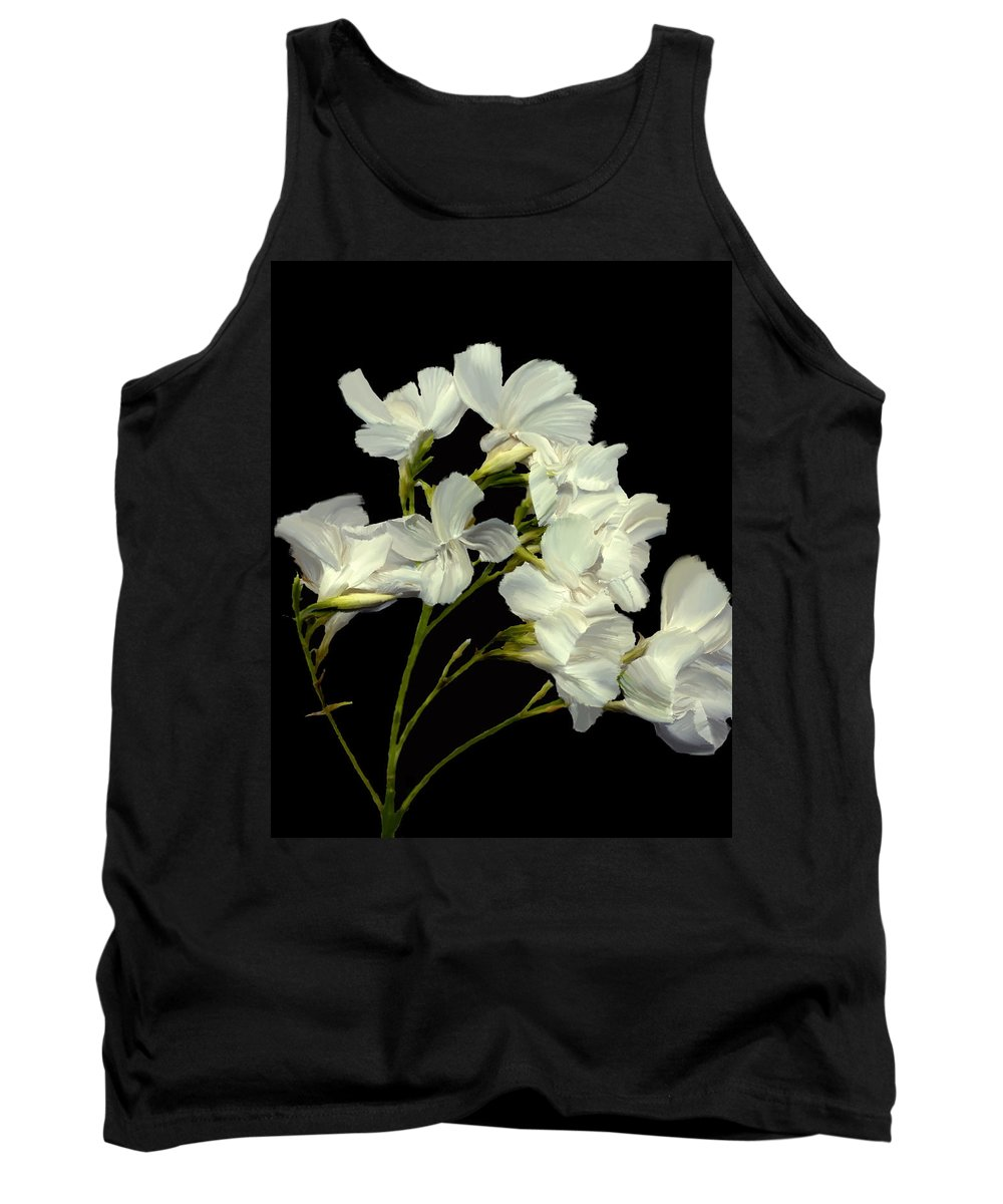 Flowers Tank Top featuring the photograph Oleander by Kurt Van Wagner