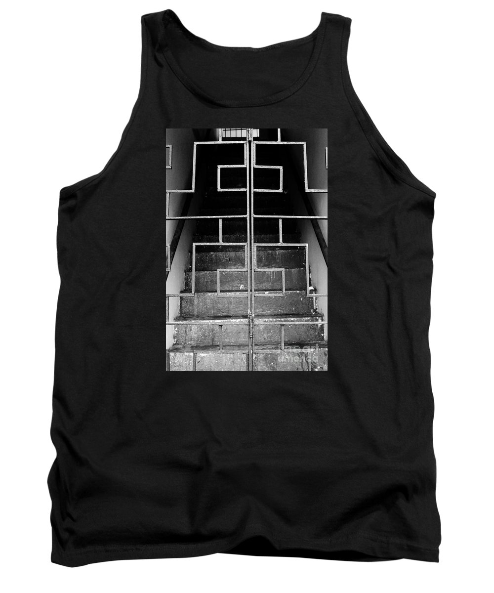 Ominous Tank Top featuring the photograph Ominous Stairs by Meagan Davis