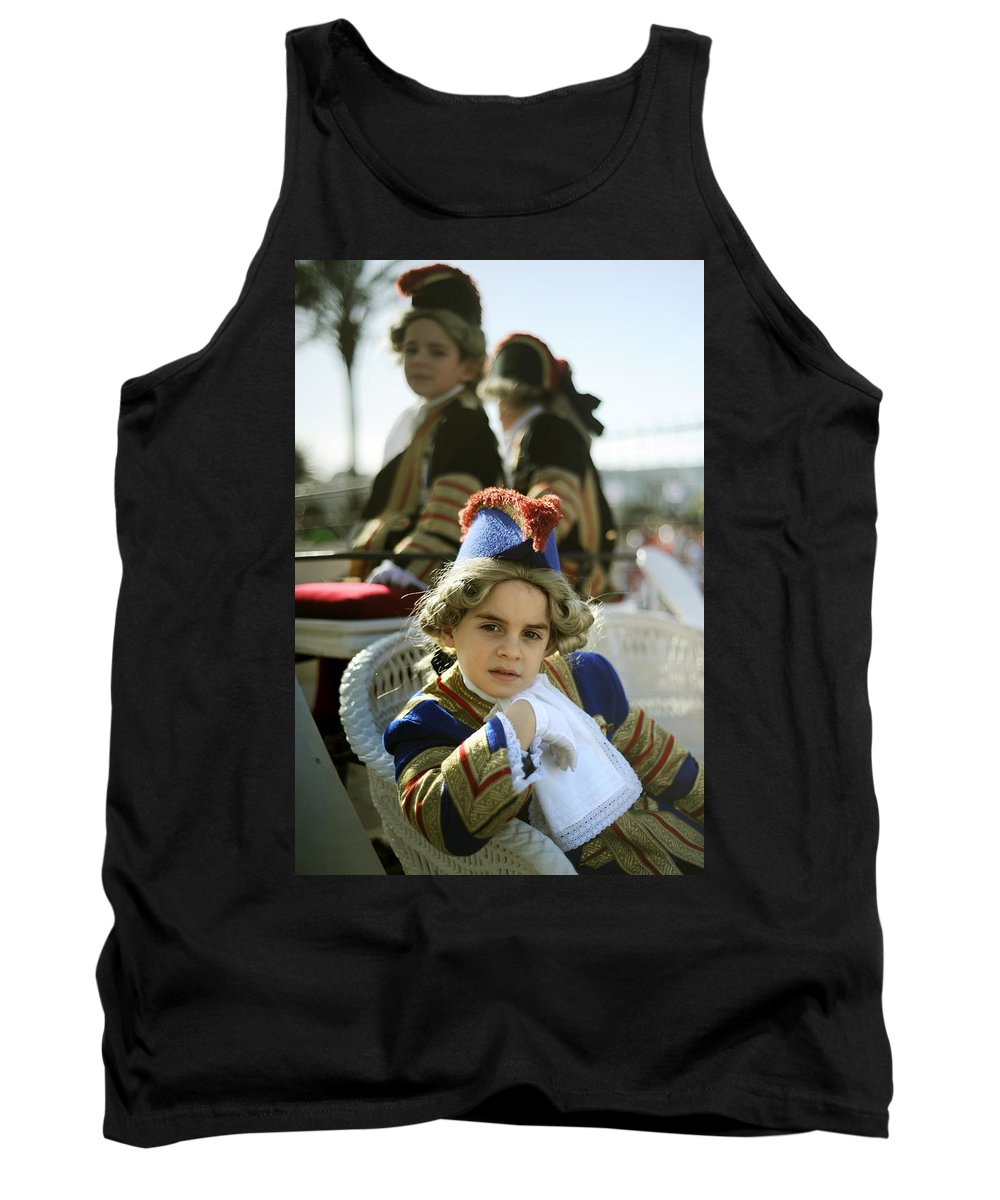 Spain Tank Top featuring the photograph On The Carriage by Rafa Rivas