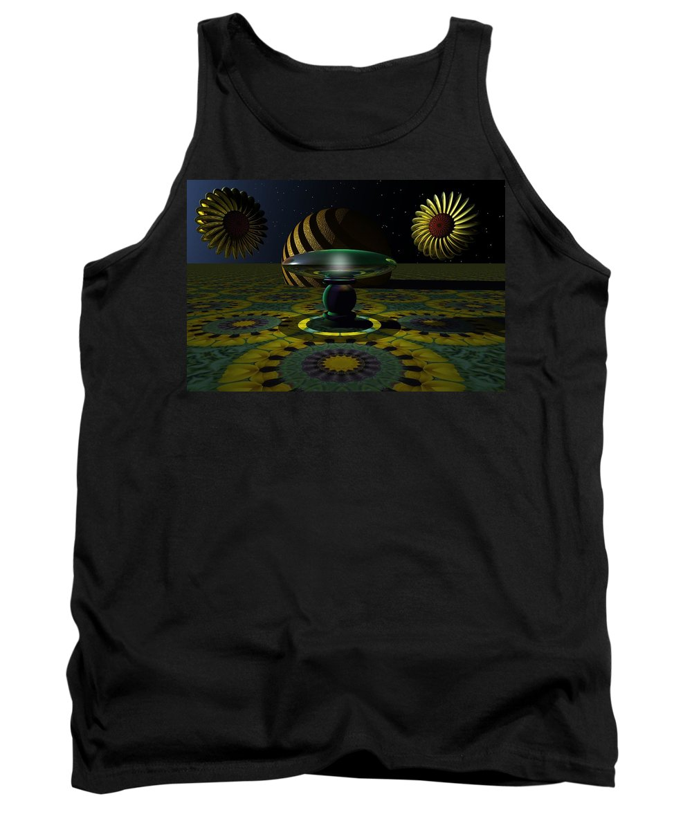 Bryce Tank Top featuring the digital art One Last Dream Before Dawn by Lyle Hatch