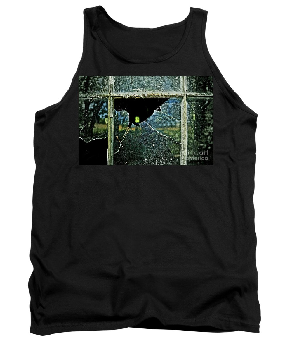 Window Tank Top featuring the photograph Opportunity Perhaps by Gwyn Newcombe