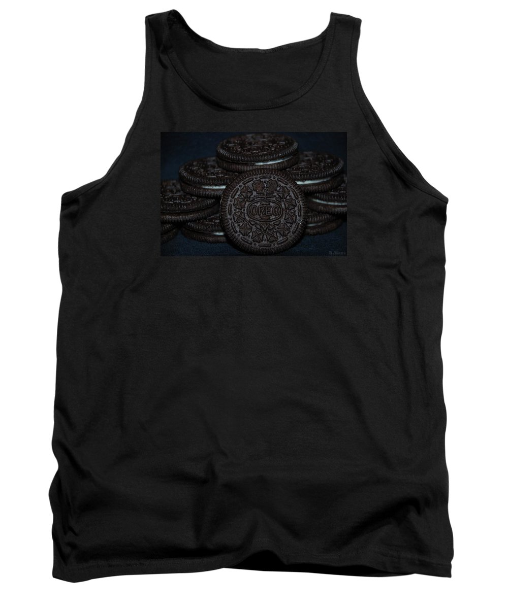 Oreo Tank Top featuring the photograph Oreo Cookies by Rob Hans