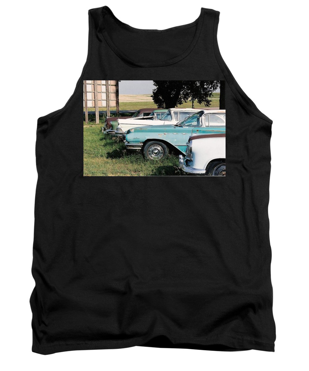 Rural Tank Top featuring the photograph Out To Pasture by Lauri Novak