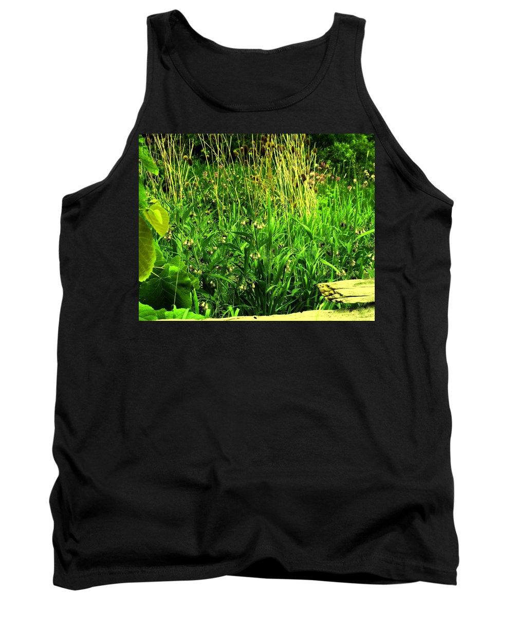 Fence Tank Top featuring the photograph Over The Fence by Ian MacDonald
