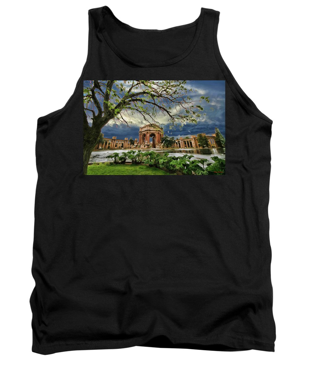 Art Photography Tank Top featuring the photograph Palace Of Fine Art by Blake Richards