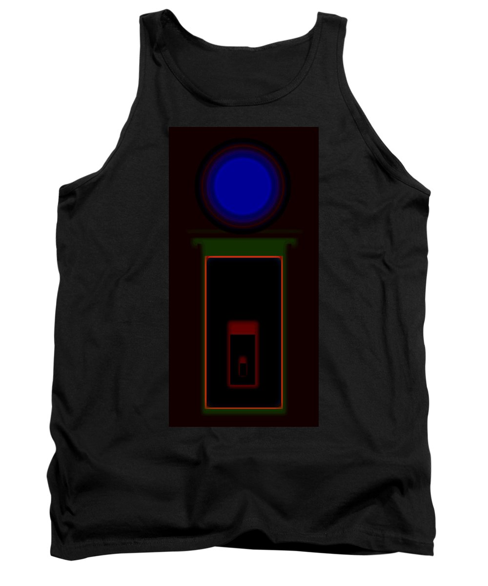 Palladian Tank Top featuring the painting Palladian Night by Charles Stuart