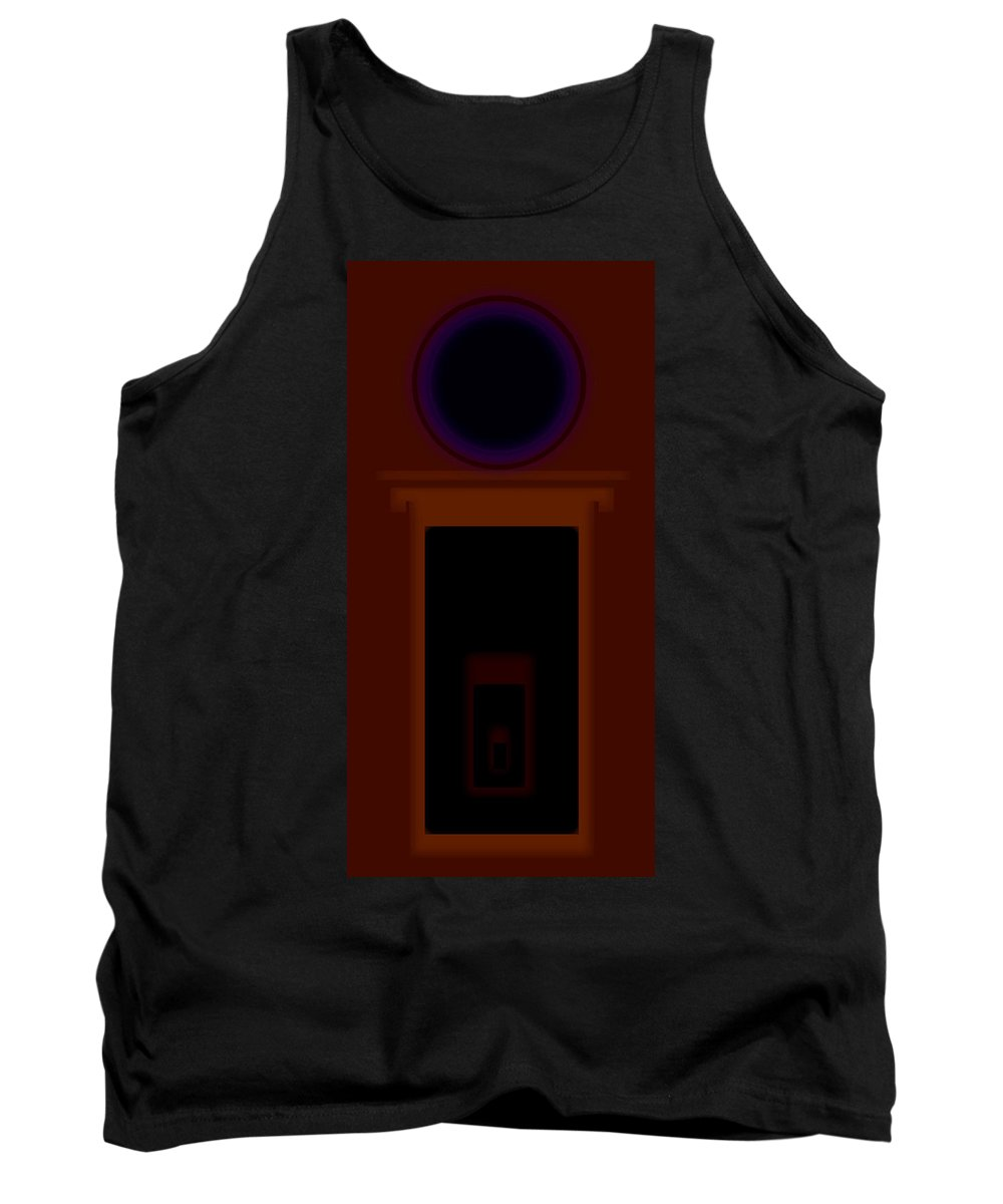 Palladian Tank Top featuring the painting Palladian Orange by Charles Stuart