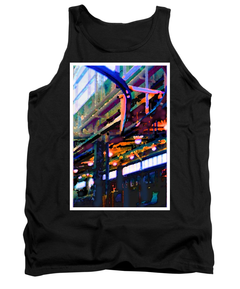 Abstract Tank Top featuring the photograph panel two from Star Factory by Steve Karol