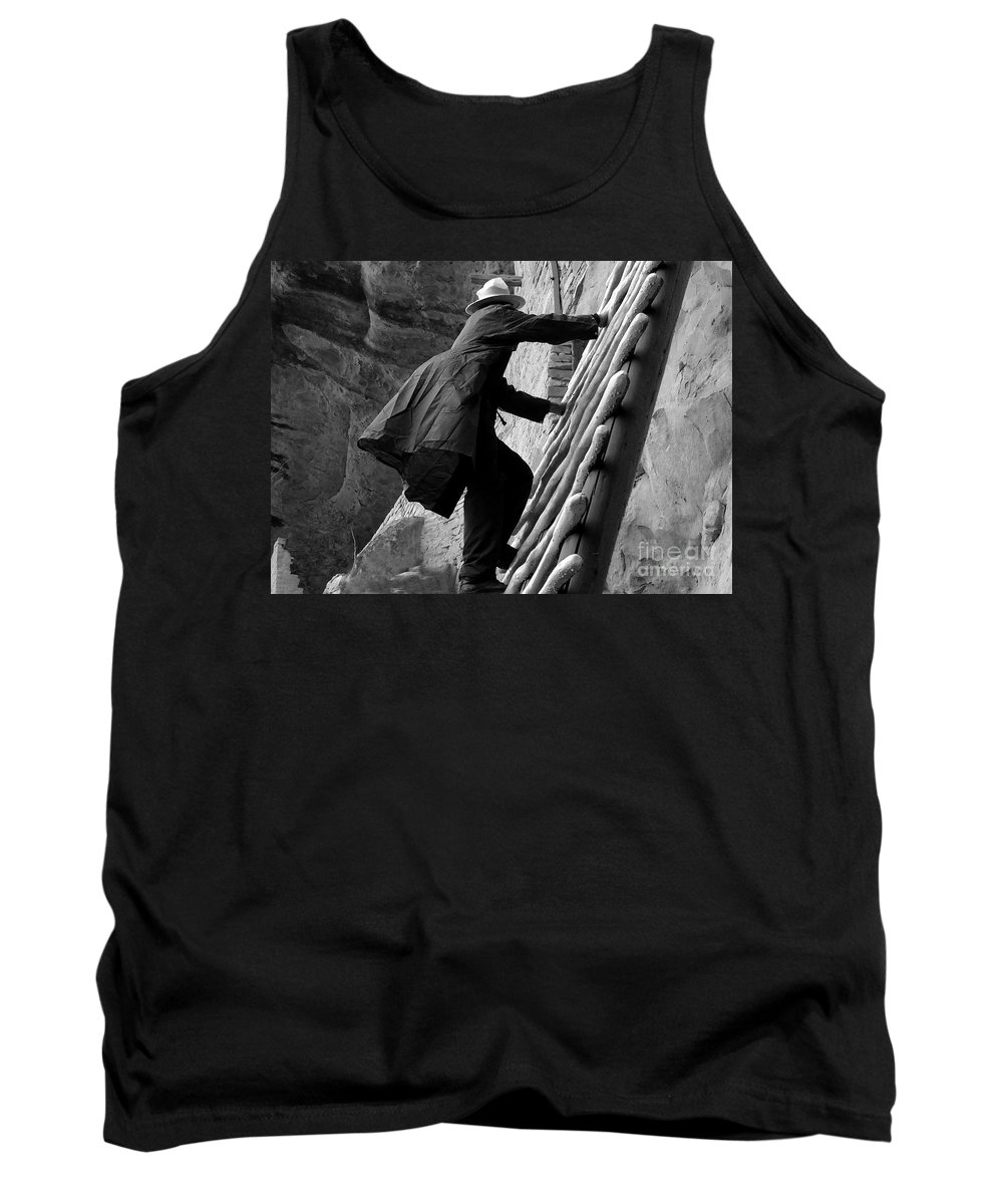 Park Ranger Tank Top featuring the photograph Park Ranger by David Lee Thompson
