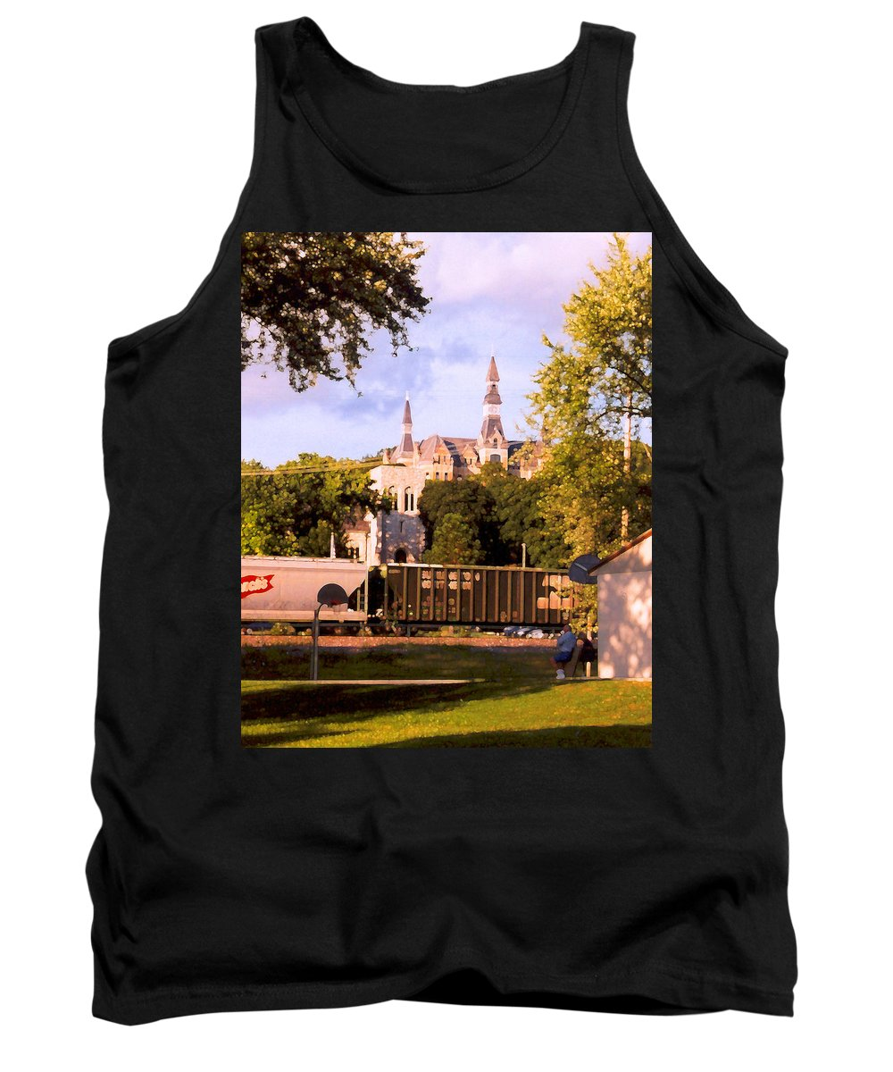 Landscape Tank Top featuring the photograph Park University by Steve Karol
