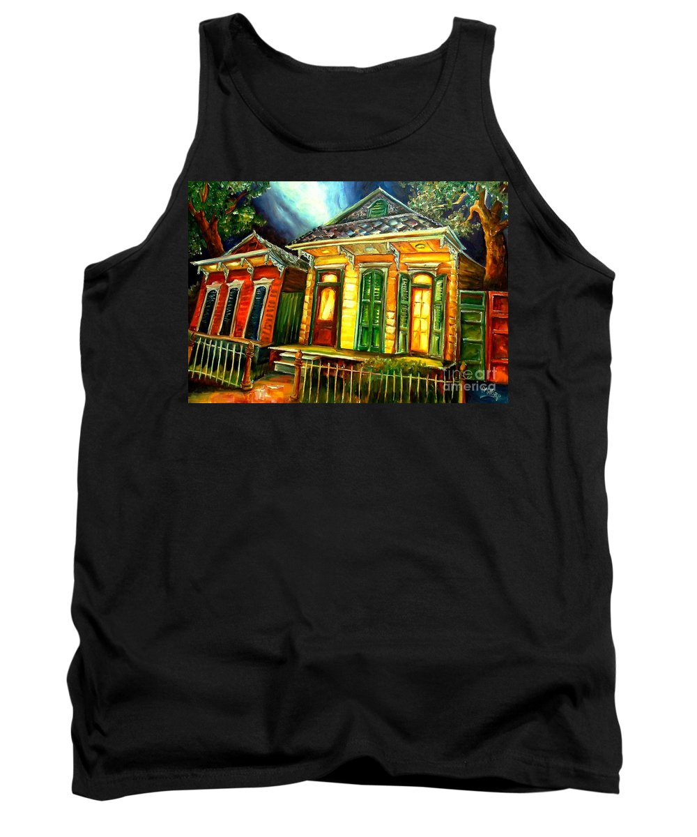 New Orleans Tank Top featuring the painting Partners by Diane Millsap