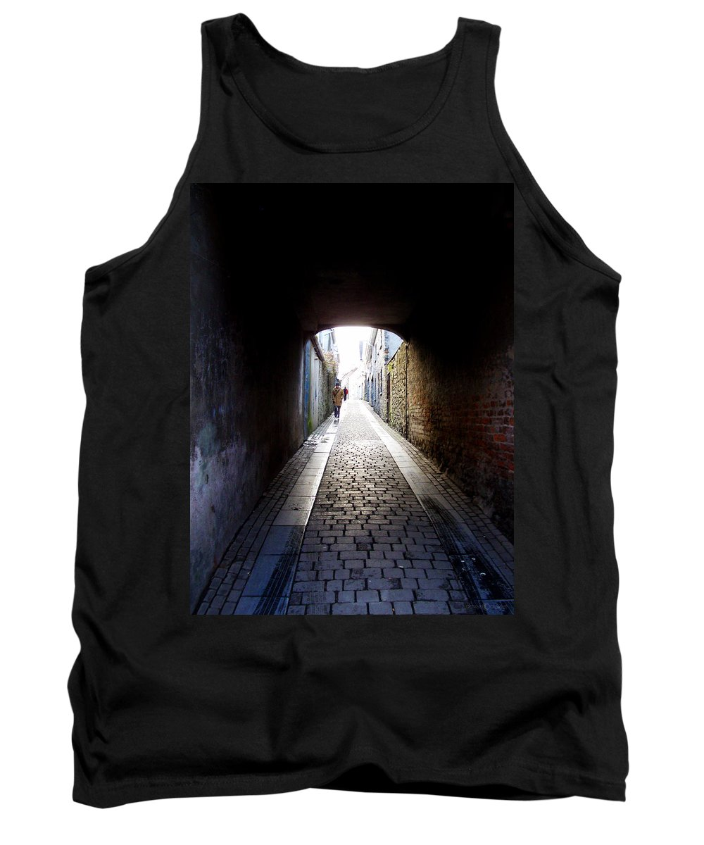 Cooblestone Tank Top featuring the photograph Passage by Tim Nyberg