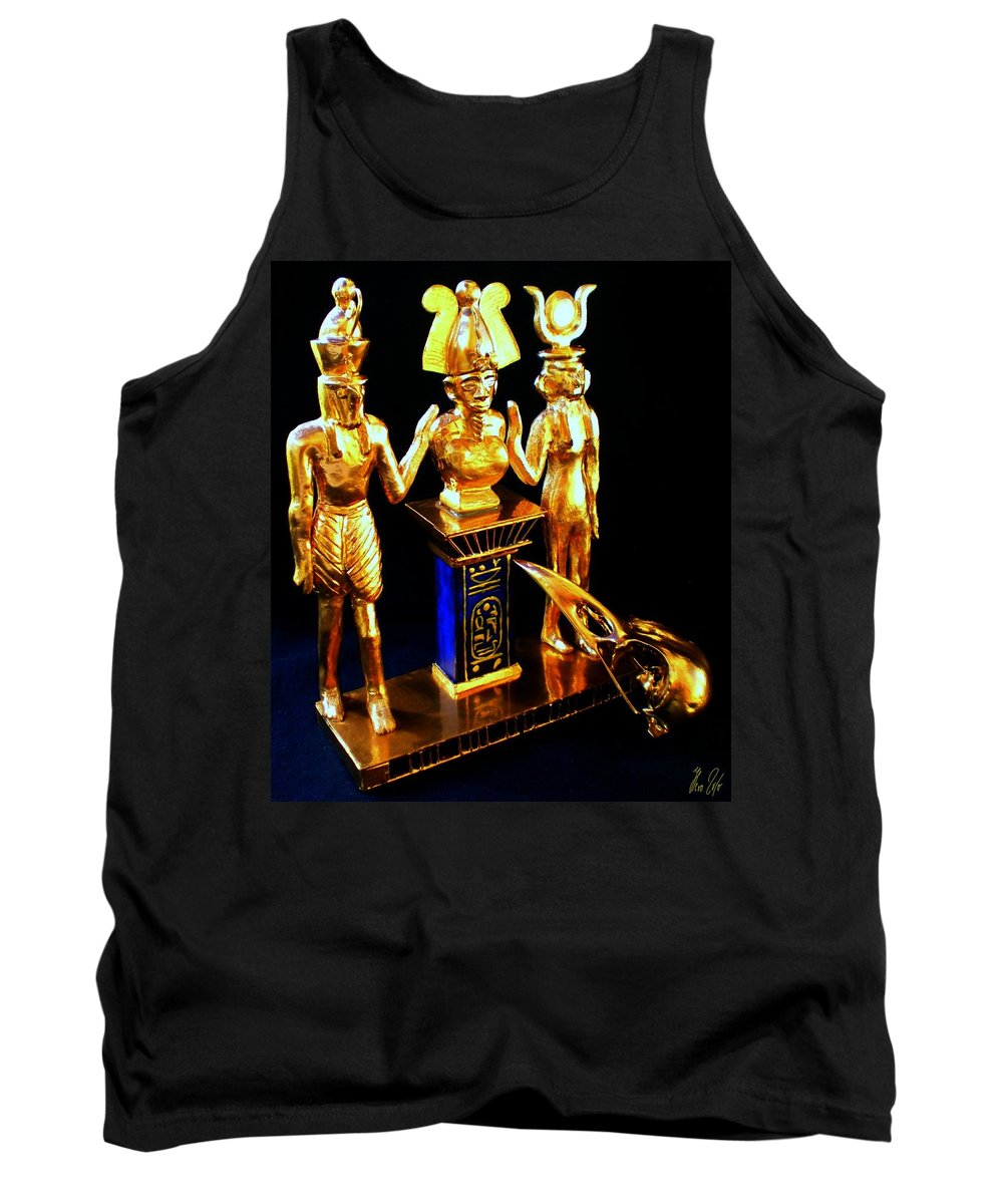 Times Tank Top featuring the photograph Past Times by Helmut Rottler