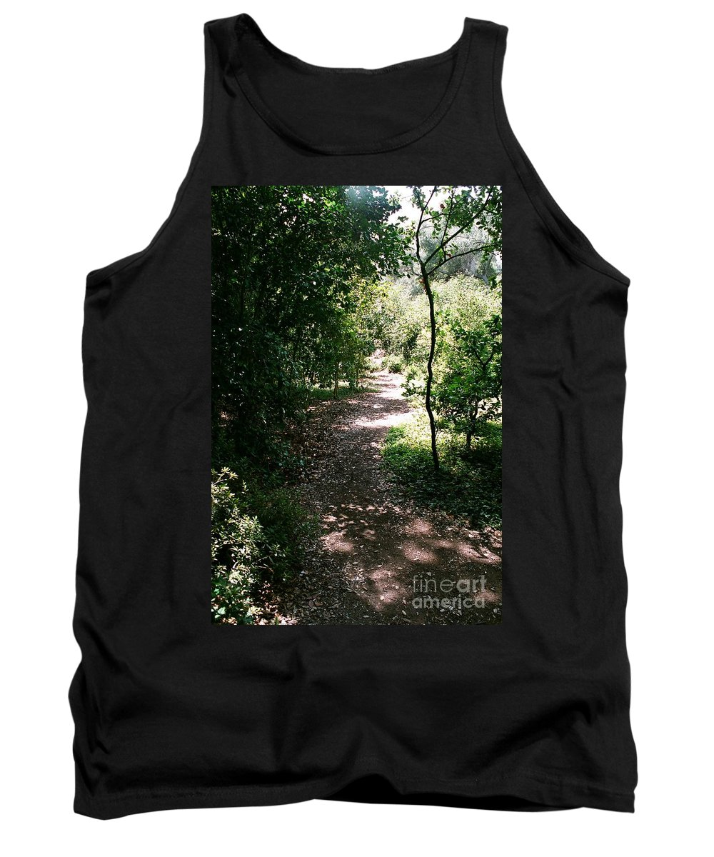 Path Tank Top featuring the photograph Path by Dean Triolo