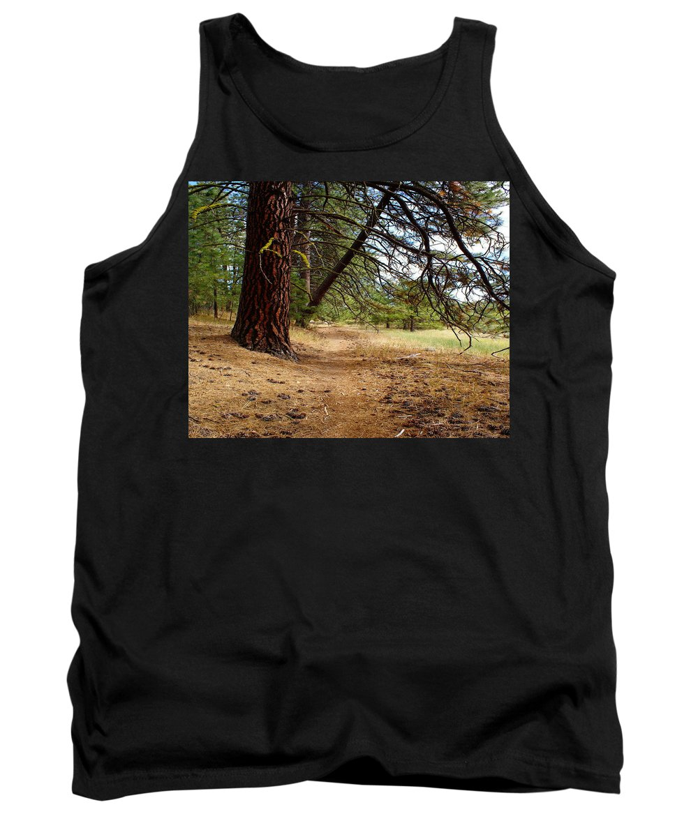 Nature Tank Top featuring the photograph Path To Enlightenment 1 by Ben Upham III