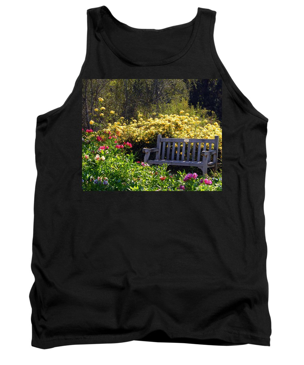 Flowers Tank Top featuring the photograph Peaceful by Amy Fose