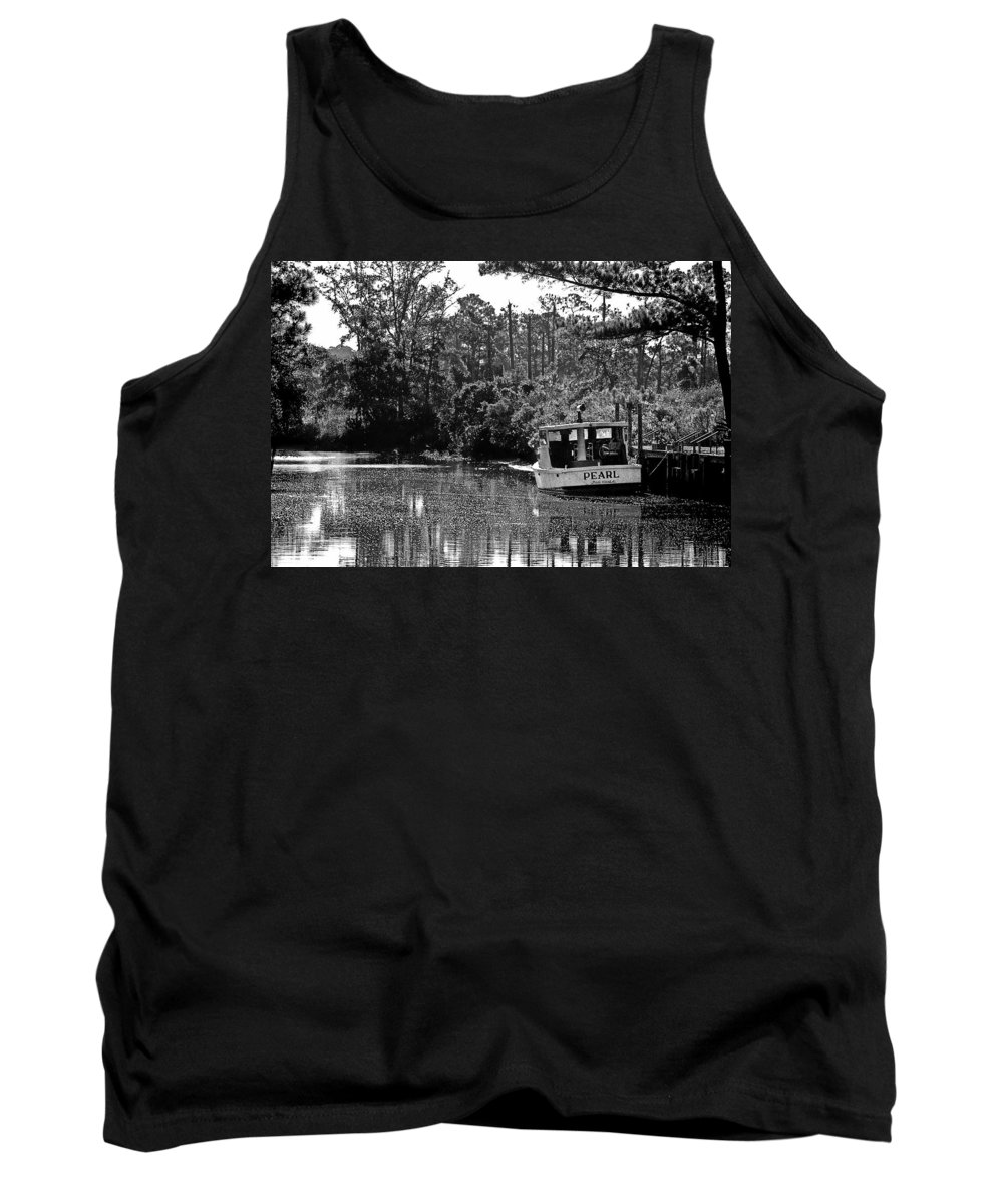 Fairhope Tank Top featuring the painting Pearl And The Sparkling Waters by Michael Thomas
