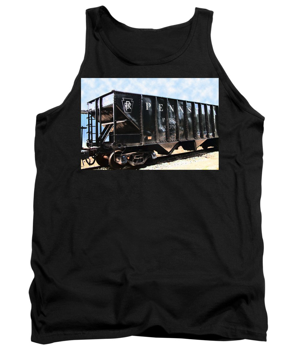 Trains Tank Top featuring the photograph Pennsylvania Hopper by RC DeWinter