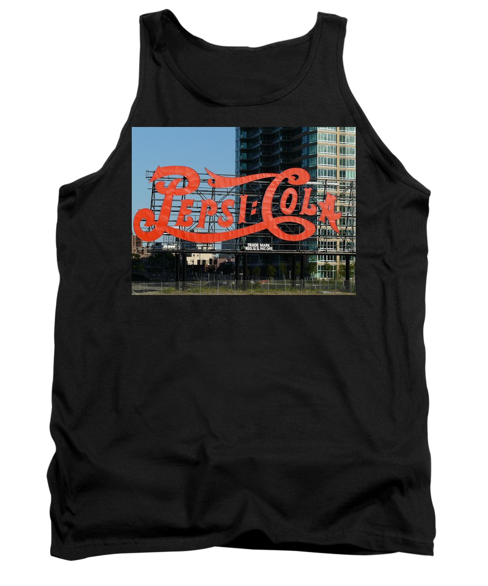 New York Tank Top featuring the photograph Pepsi-cola by Valerie Ornstein