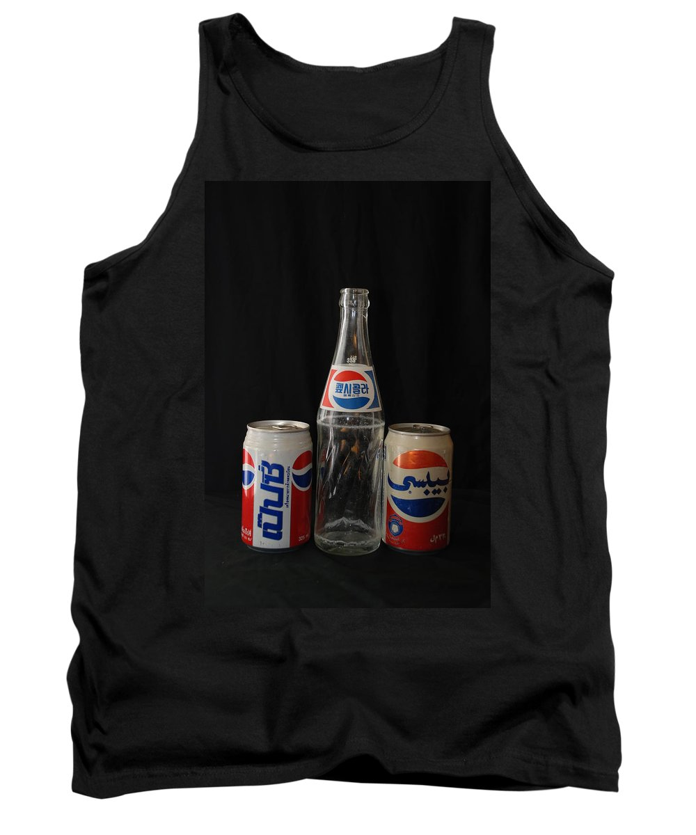 Korean Tank Top featuring the photograph Pepsi From Around The World by Rob Hans