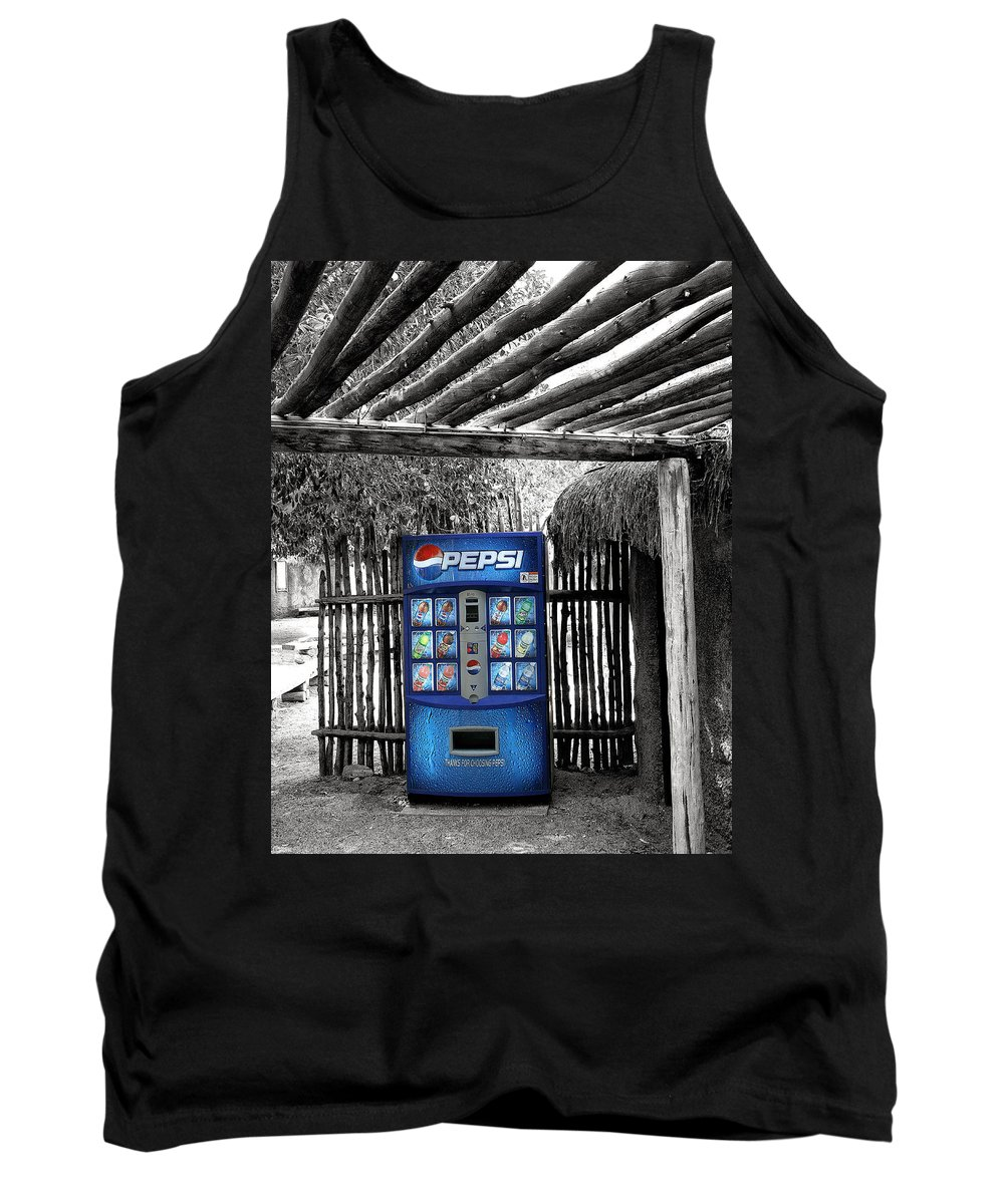 Living Desert Tank Top featuring the photograph Pepsi Generation Palm Springs by William Dey