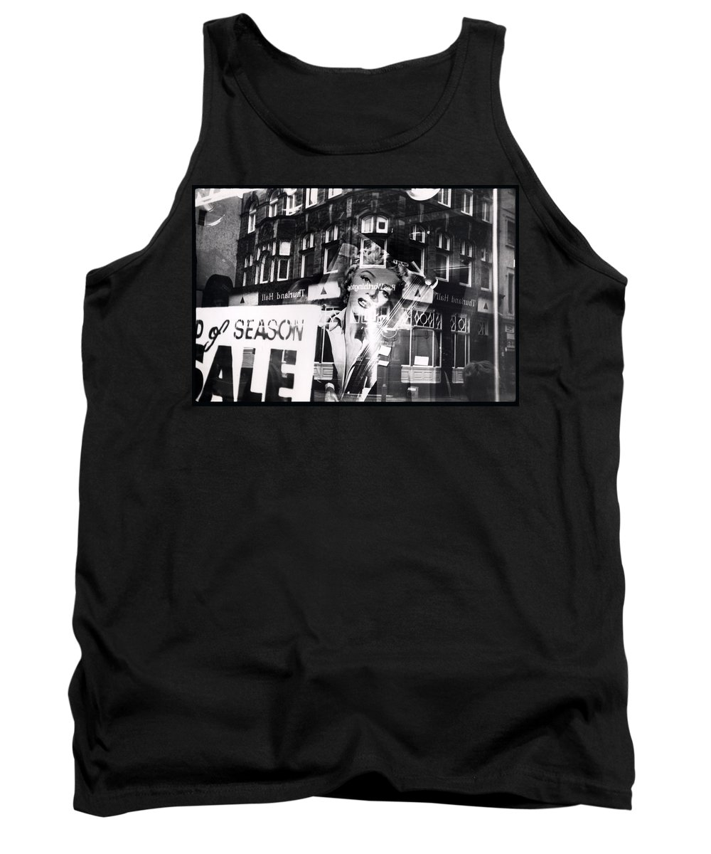 Marilyn Tank Top featuring the photograph Photograph Of Marilyn by Charles Stuart