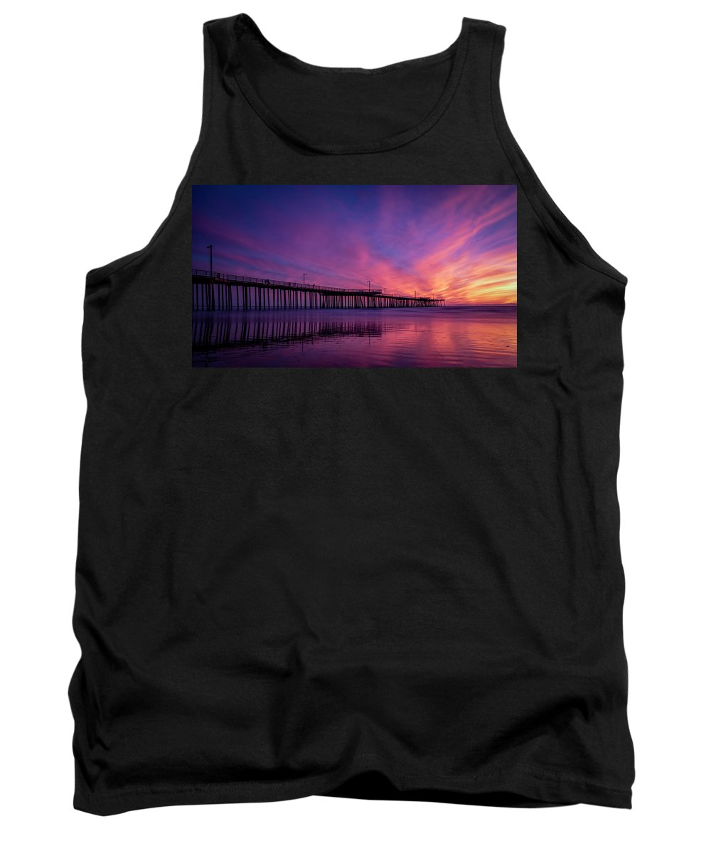 Pismo Tank Top featuring the photograph Pismo's Palette by Sean Foster