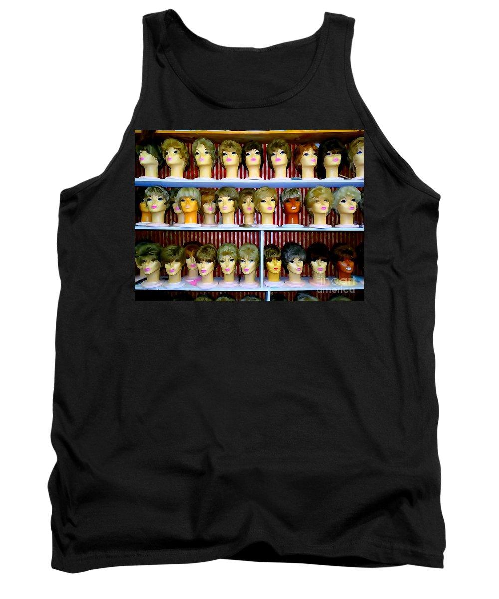 Pop Art Tank Top featuring the photograph Pixie Chicks by Ed Weidman