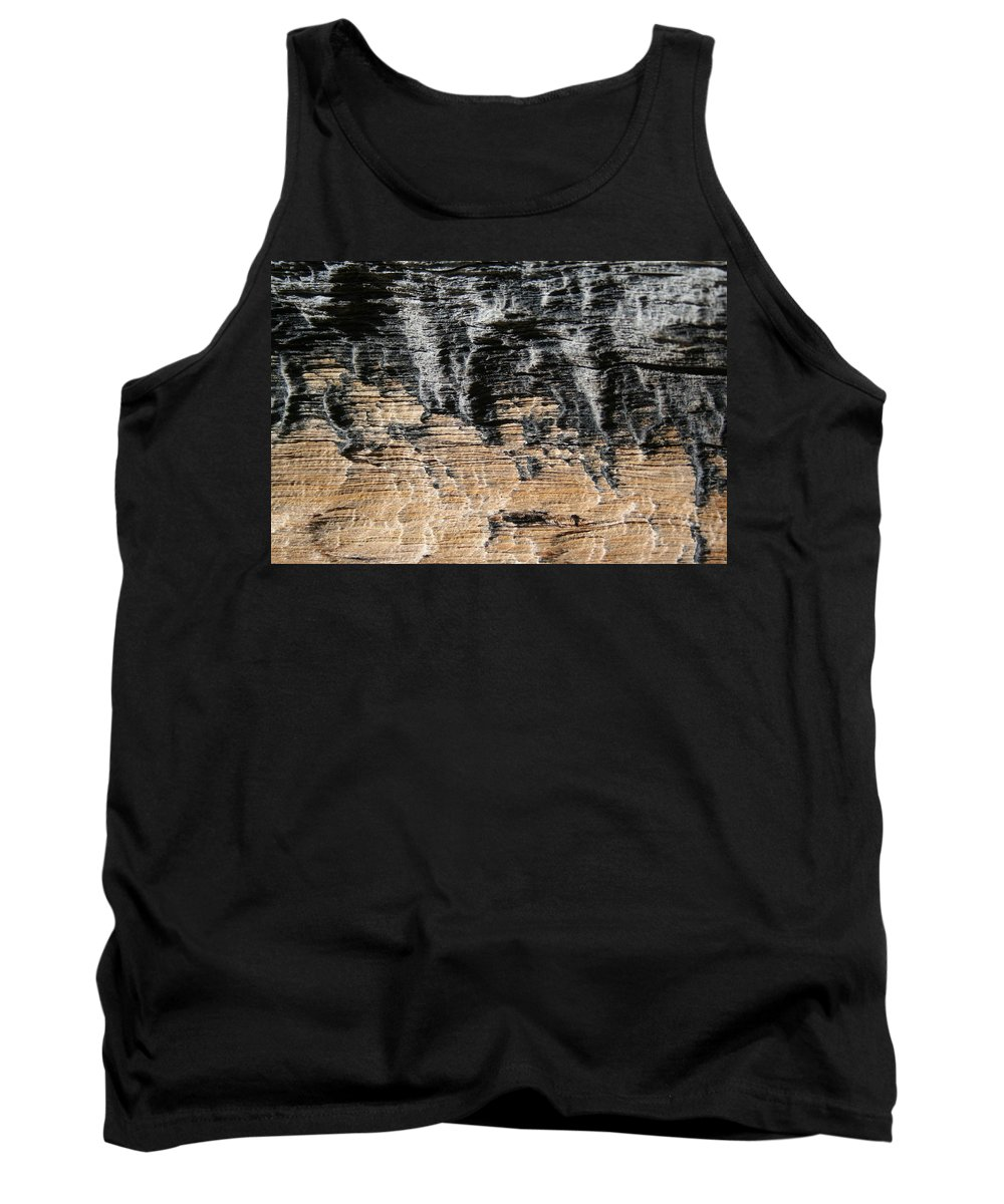 Abstract Tank Top featuring the photograph Planet Landing by Ric Bascobert