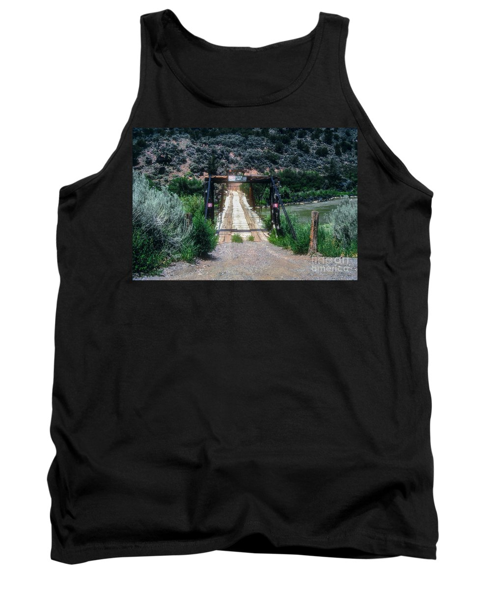 Queste Tank Top featuring the photograph Please Keep Out by Bob Phillips