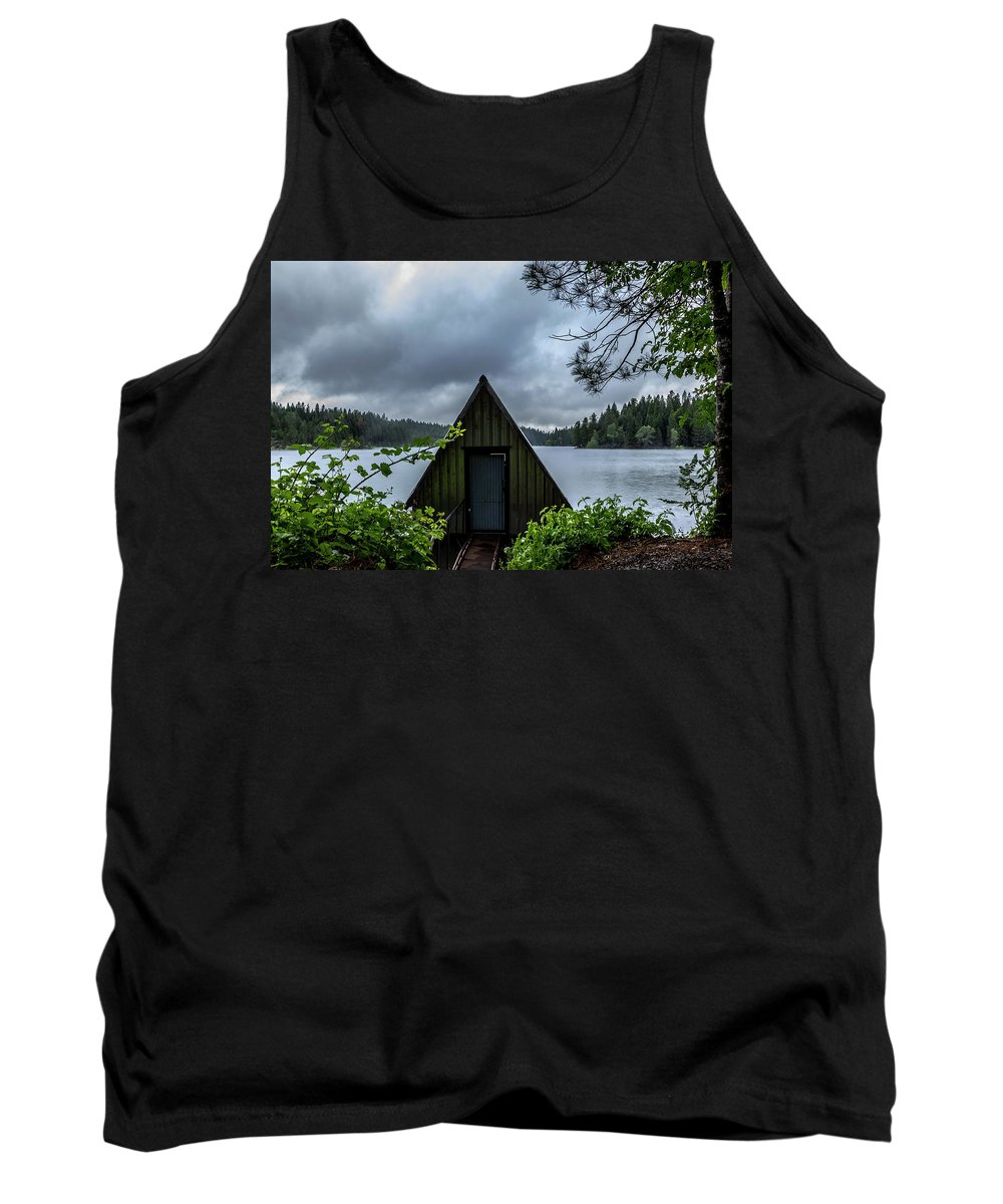 Nature Tank Top featuring the photograph Point Of View by Jeanette Hunter
