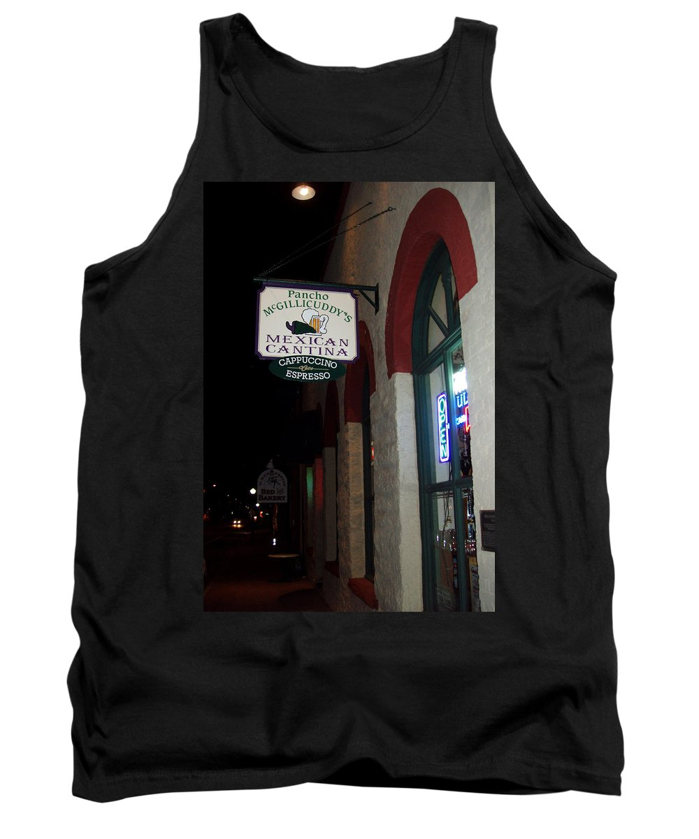 Restaurant Tank Top featuring the photograph Poncho Mcgillicuddys by Wayne Potrafka