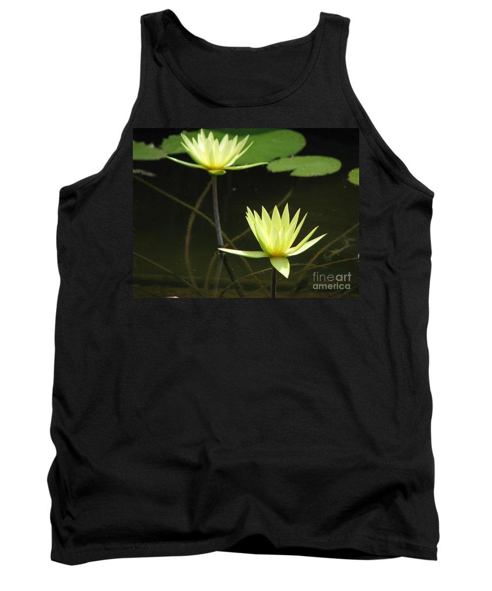Pond Tank Top featuring the photograph Pond by Amanda Barcon