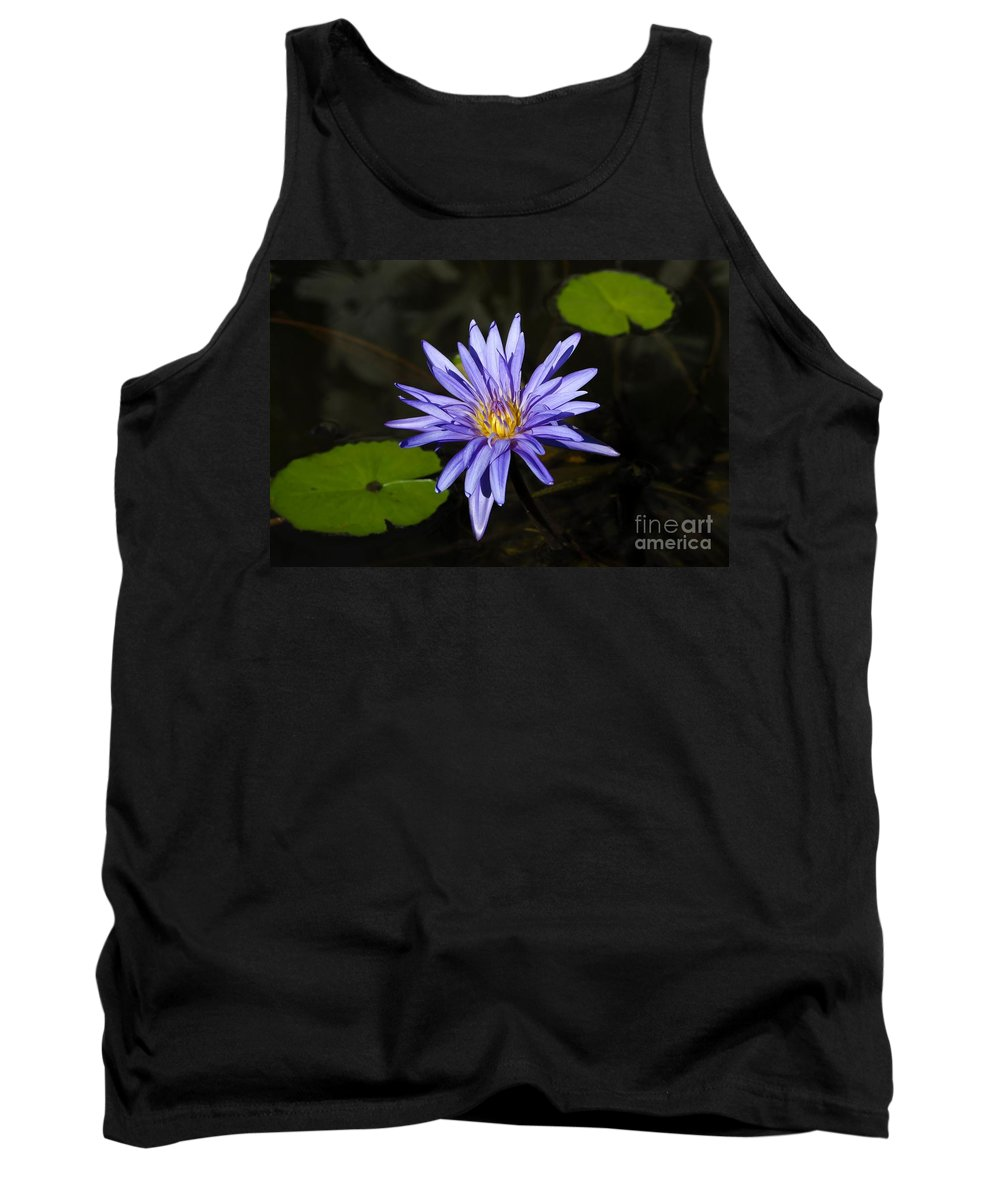 Pond Lily Tank Top featuring the photograph Pond Lily by David Lee Thompson