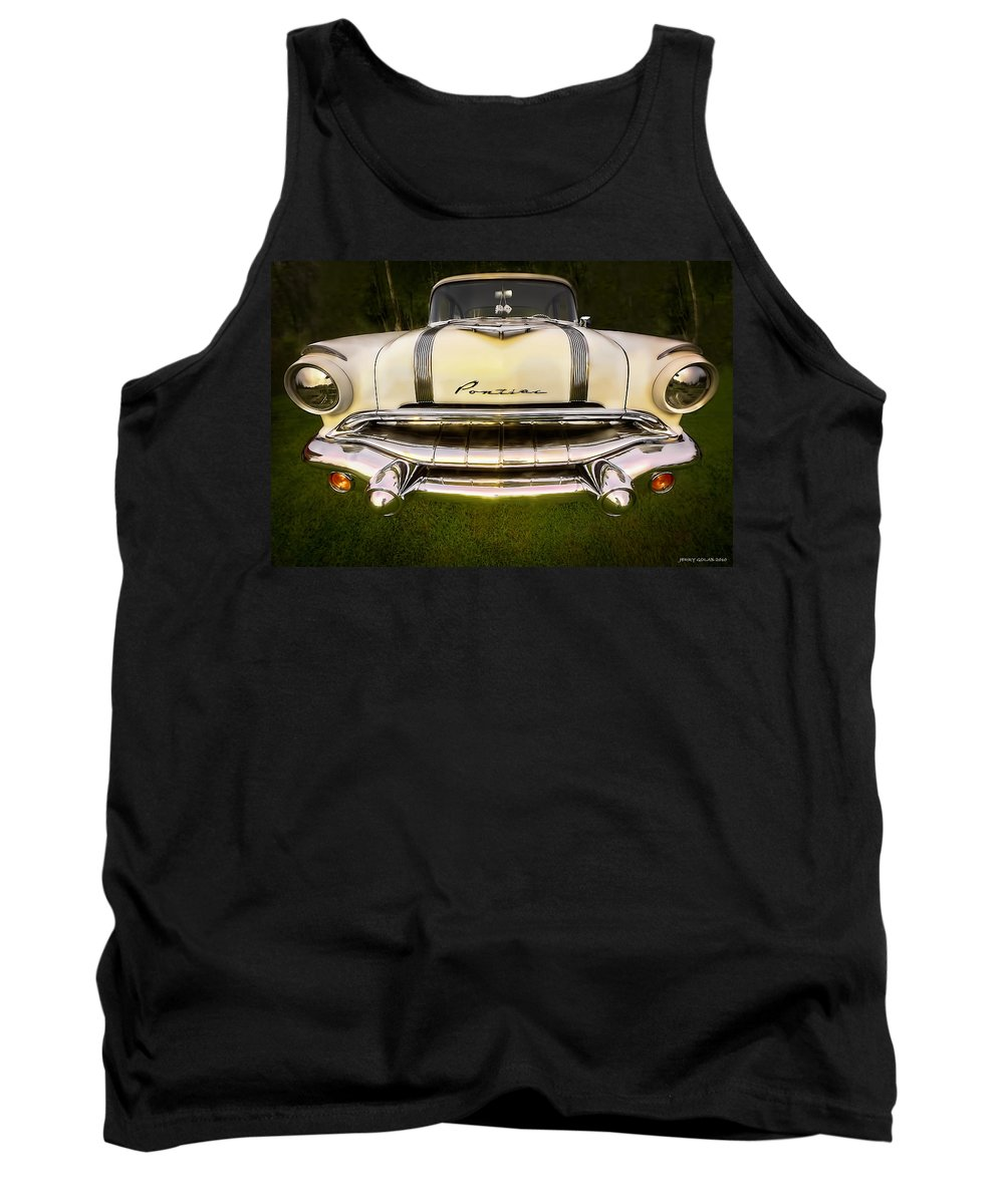 Transportation Tank Top featuring the photograph Pontiac by Jerry Golab