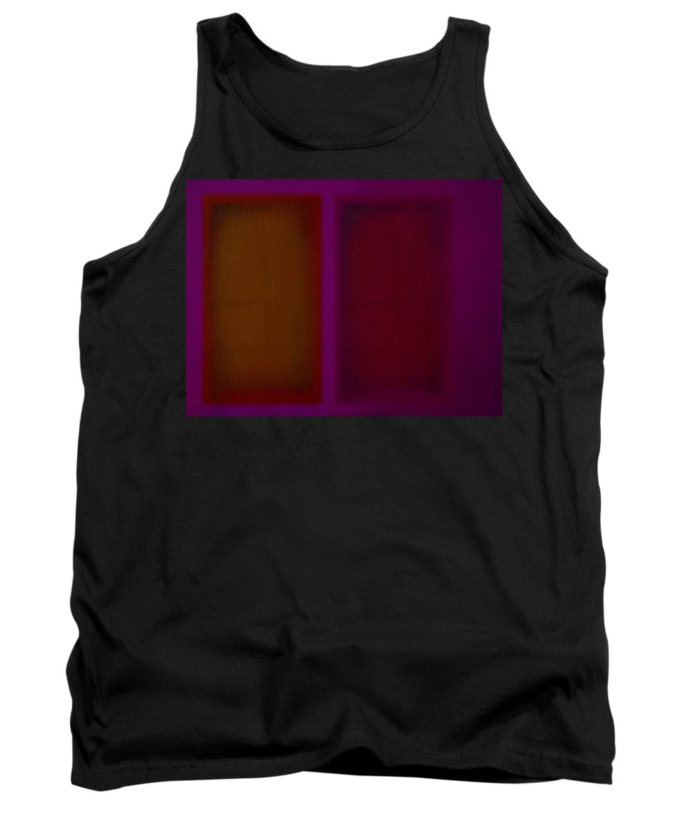 Rothko Tank Top featuring the painting Portal by Charles Stuart