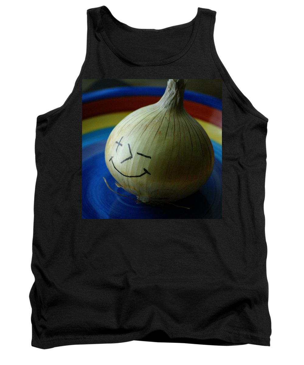 Onion Tank Top featuring the photograph Posimoto by Ben Upham III