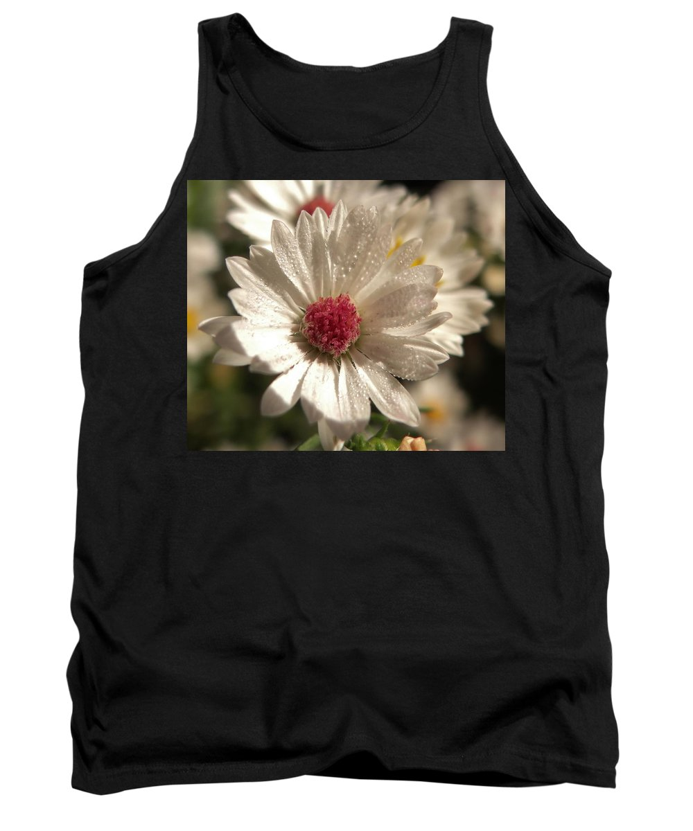 Flower Tank Top featuring the photograph Pretty In Pink by Amy Kobylarczyk