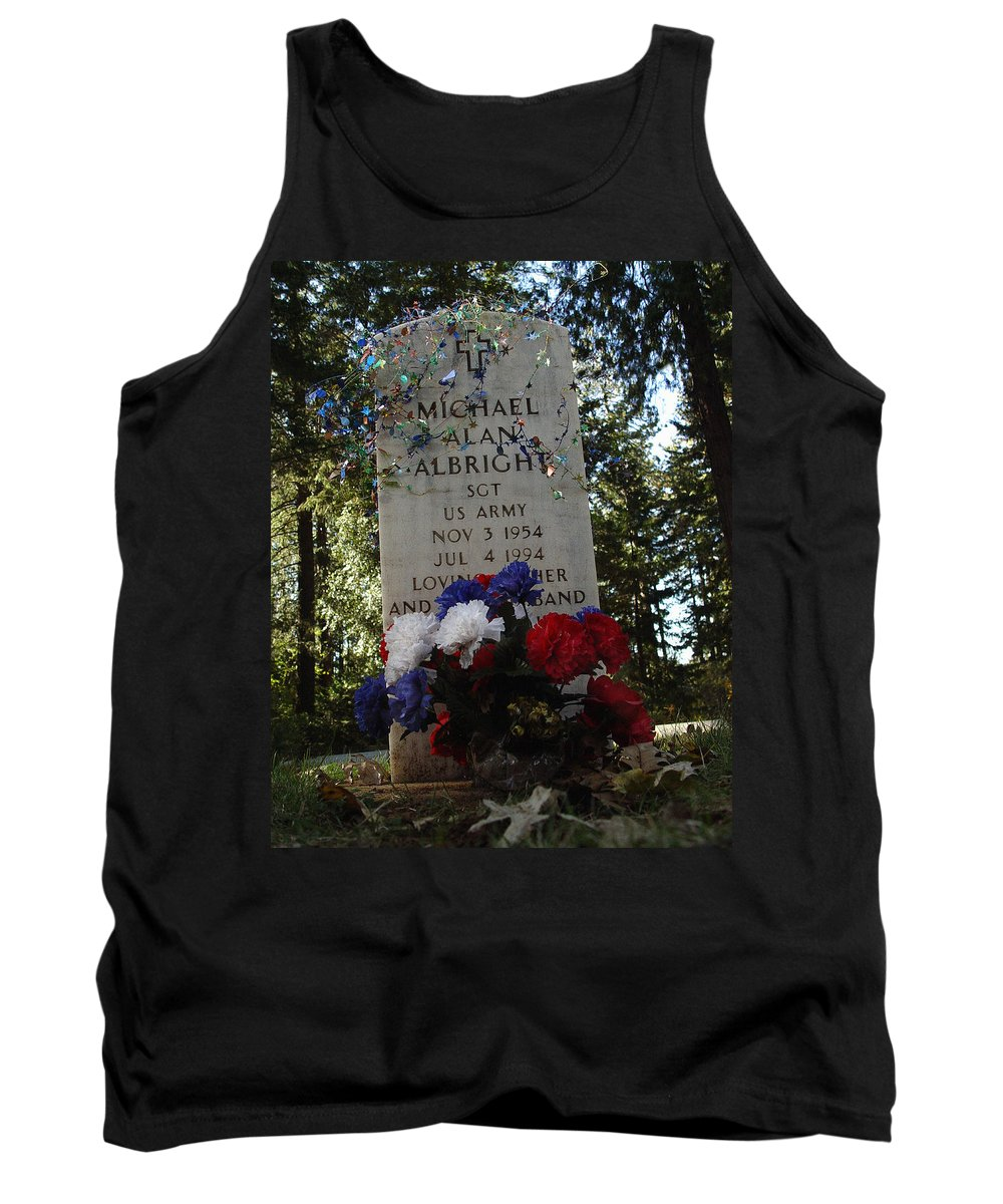 Price Of Independence And Liberty Tank Top featuring the photograph Price Of Independence And Liberty by Peter Piatt