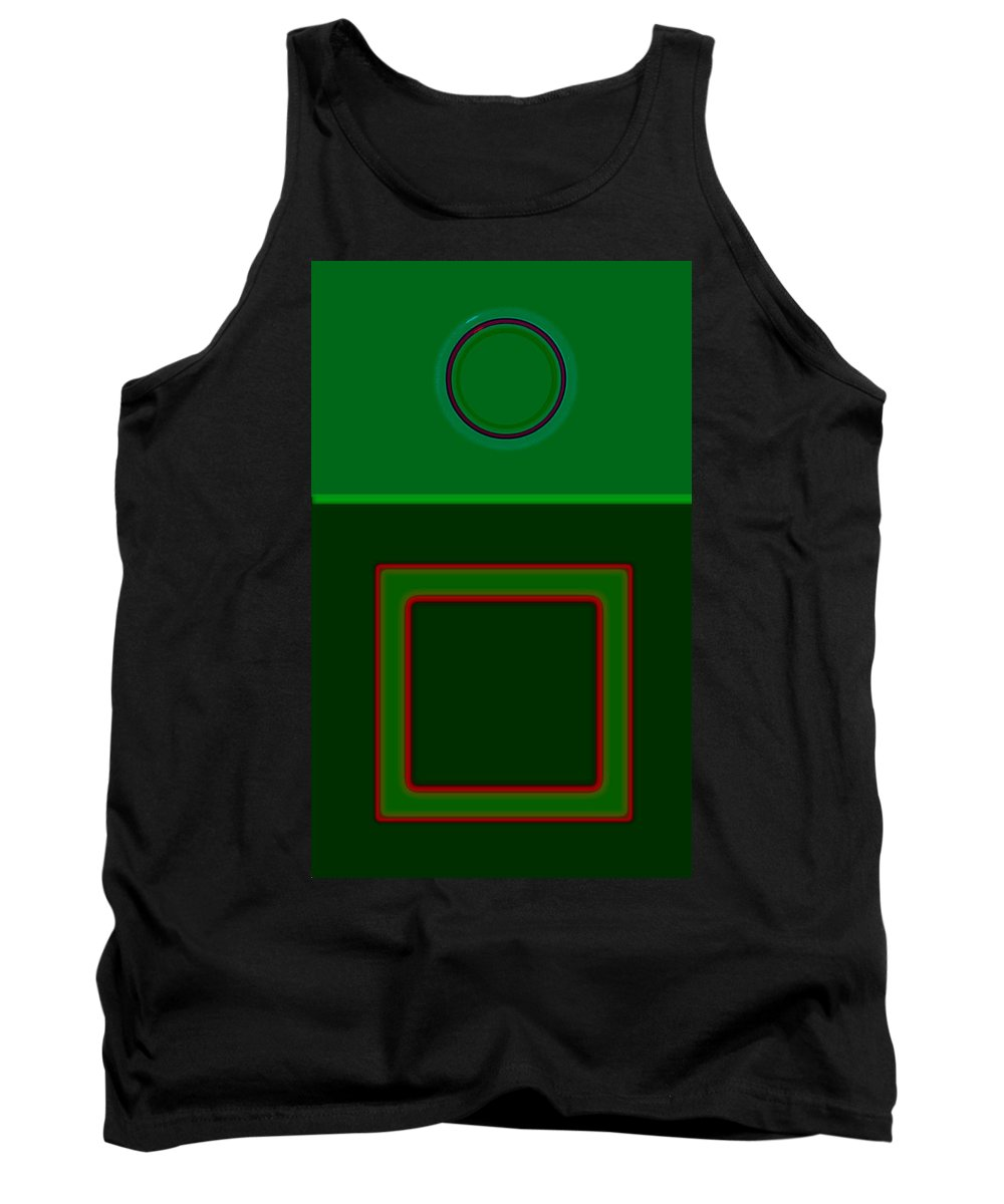 Classical Tank Top featuring the digital art Primavera by Charles Stuart