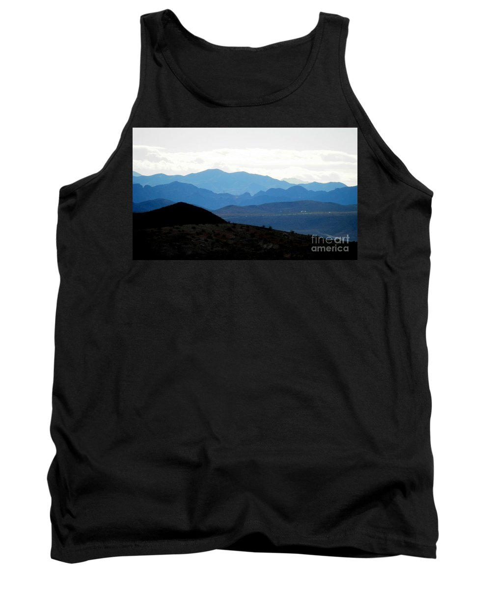 Callville Bay Neighboring Lands Tank Top featuring the photograph Promise Land by L Cecka