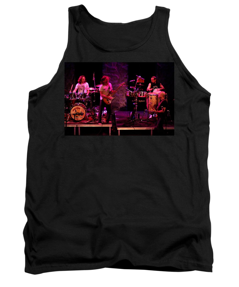 Lukas Nelson Tank Top featuring the photograph Promise Of The Real Rock by Ben Upham