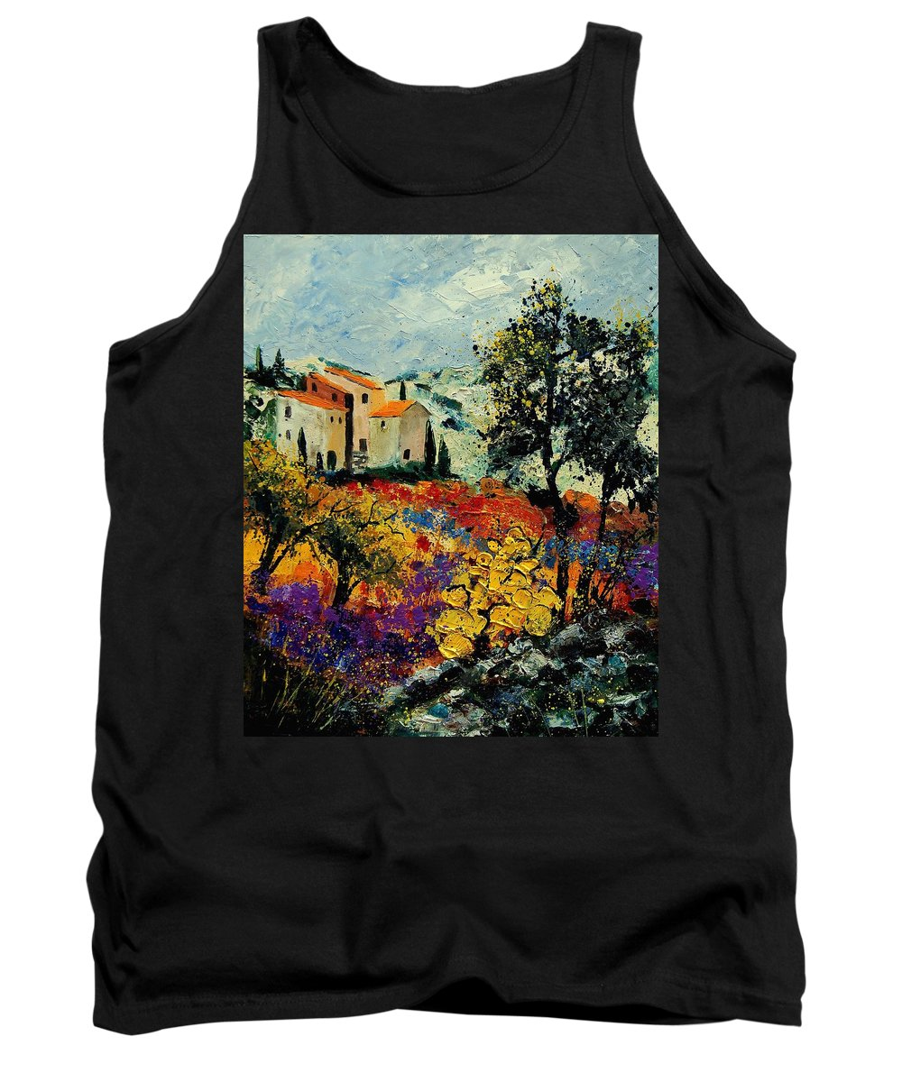 Provence Tank Top featuring the painting Provence 56900192 by Pol Ledent